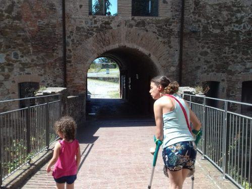 """""""Io condivido"""" notizie-annunci (Samanta Crespi) Arte, cultura, e accessibile: La fortezza del Priamar a Savona"""