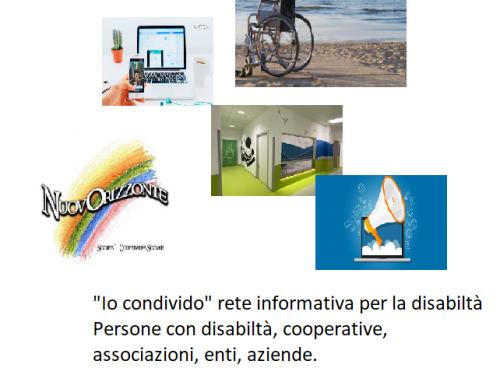 """""""Io condivido"""" rete informativa per la disabilità"""