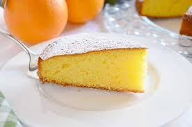 Torta soffice d'arancia