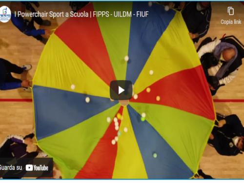 """""""Io condivido"""" i Powerchair Sport a Scuola   FIPPS – UILDM – FIUF"""