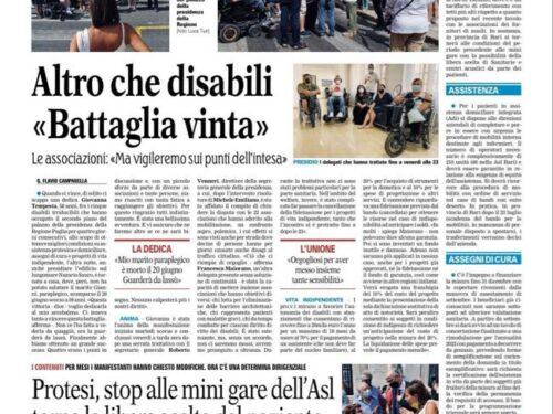 """""""Io condivido"""" Luigi Gariano condivide: """"Altro che disabili"""""""