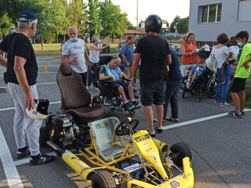"""""""Io condivido"""" Niko Tremolada, da oggi apre Big kart per persone disabili"""