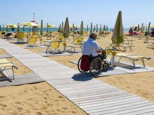 """""""Io condivido"""" Fondazione Serono progetto spiagge accessibili"""
